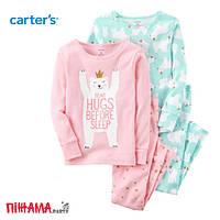 Пижама для девочки Carters, 3 года (сет из 2х компл.)