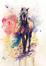 Картина за номерами Райдужний кінь