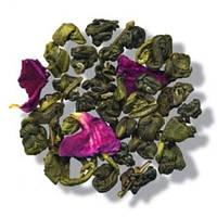 """Зеленый чай """"Розовый жемчуг"""""""