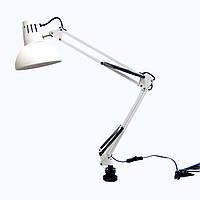Настольная лампа на струбцине Е27 WT074б