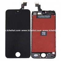 Оригинальный Дисплей iPhone 5C черный(LCD экран, тачскрин, стекло в сборе)
