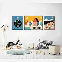 Комплект постеров City Colors