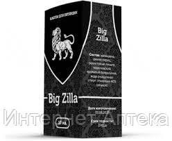 Капли для потенции Big Zilla - Биг зилла