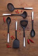 Набор кухонных аксессуаров Tramontina Modern 3 предмета (лопатка,ложка, половник) сталь/нейлон 66816/730