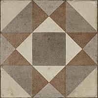 Плитка Керамогранит 20*20 Ottocento Tappeto 3 Ambra Декор