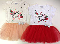 Очаровательное платье для мальньких принцесс