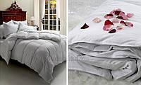 Одеяло пуховое зимнее Cinelli Vitality 100% пуха зимнее 200х220 см вес наполнителя 715 г