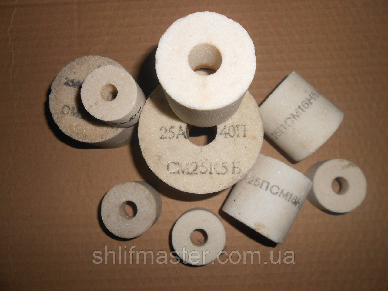 Абразивный круг шлифовальный (электрокорунд белый) 25А ПП 32Х20Х6