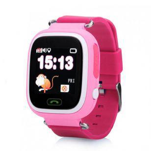 Smart Baby Watch Q80 Pink