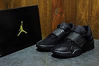 Кроссовки мужские повседневные Nike Air Jordan J23 Triple Black (найк эир джордан, реплика) (реплика)
