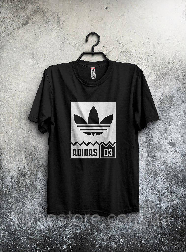 Хайповая футболка Adidas 03, Реплика