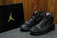 Кроссовки мужские баскетбольные Nike Air Jordan Melo M13 black (реплика)
