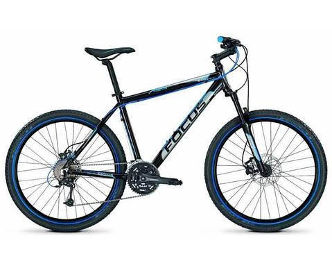 """Горный велосипед FOCUS BLACK HILLS 26"""" 17""""  Черный/Синий"""