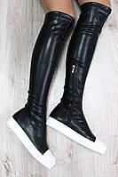 Модные сапоги чулки в стиле Jimmy Choo