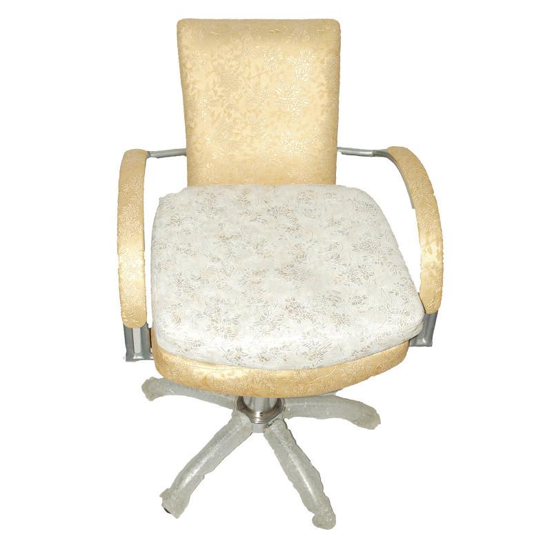 """Парикмахерское кресло  """"Инга"""" (белый узор)"""