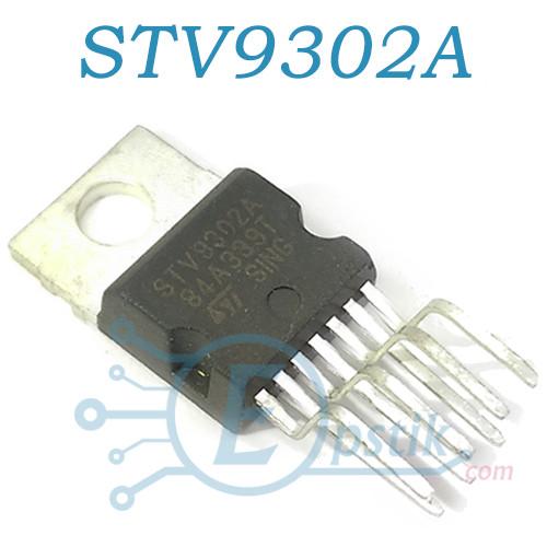 STV9302A, драйвер вертикальной развертки для ТВ мониторов с 70В обратноходовым генератором, TO220-7