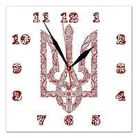 Часы настенные стеклянные Т-Ок 003 S-3002