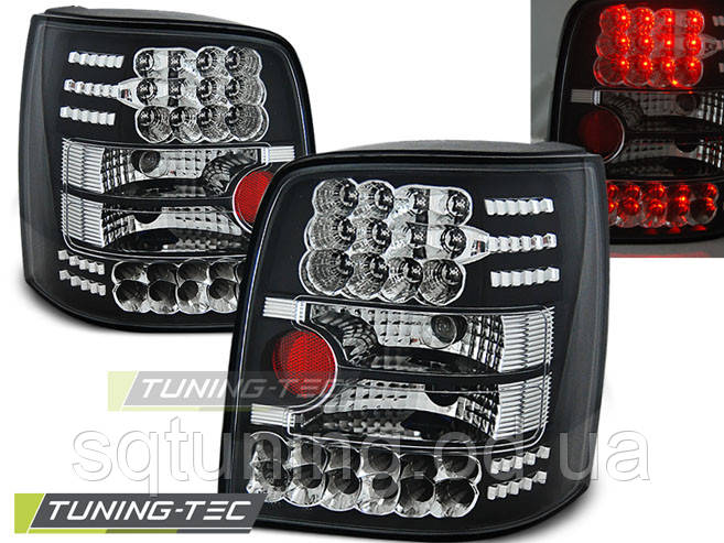 Задние фонари VW PASSAT B5 11.96-08.00 VARIANT BLACK LED
