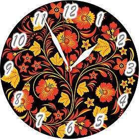 Часы настенные стеклянные Т-Ок 005 SD-3001