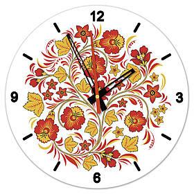 Часы настенные стеклянные Т-Ок 006 SD-3501