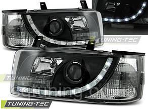 Фары VW T4 90-03.03 TRANSPORTER DAYLIGHT BLACK