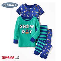 Пижама для мальчика Old Navy, 4 года (сет 4в1)