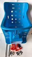 Кресло для ребенка на велосипедный багажник капроновое.