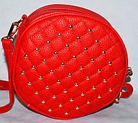 Женский клатч, сумка  на плечо, цвет красный, 1070