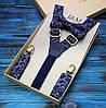 Набор I&M Craft галстук-бабочка и подтяжки для брюк (030211)
