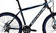 """Горный велосипед FOCUS BLACK HILLS 26"""" 17""""  Черный/Синий, фото 2"""
