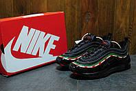 Мужские кроссовки Nike Air Max 97 x UNDEFEATED (Найк Аир Макс) черные