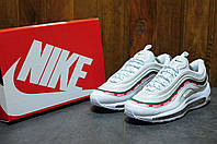 Мужские кроссовки Nike Air Max 97 x UNDEFEATED (Найк Аир Макс) белые