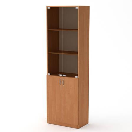 Шкаф Книжный КШ-6 Офисный Компанит, фото 2