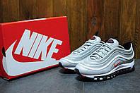Мужские кроссовки Nike Air Max 97 (Найк Аир Макс) серебристые
