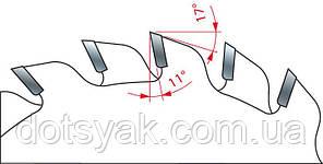 Пила Freud LI16M АА3- подрезная двухкорпусная дисковая 120х2,8-3,6х20х12+12, фото 2