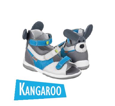 Босоножкт ортопедические для детей Memo Kangaroo