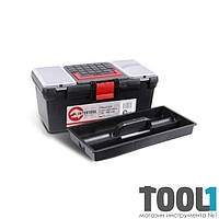"""Ящик для инструментов, 16"""" 396x216x164 мм INTERTOOL BX-0016"""