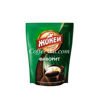 Кофе растворимый Жокей Фаворит 65 г  м/у