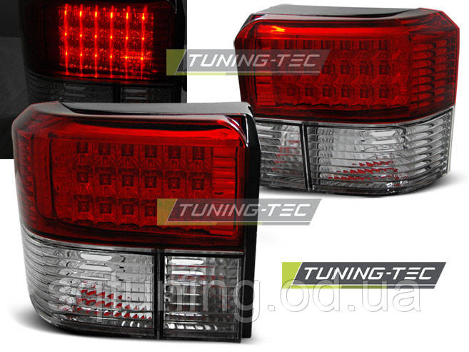 Задние фонари VW T4 90-03.03 RED WHITE LED