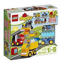 Конструктор LEGO DUPLO Оригинал машины и грузовики10816  Лего Duplo My First