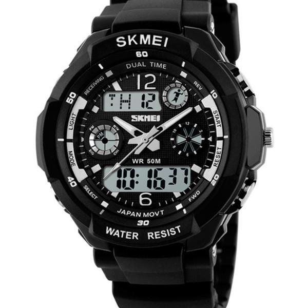 Мужские часы Skmei S-Shock Black