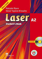 Laser 3rd Edition A2 Student's Book with CD-ROM with Macmillan Practice Online (Учебник)