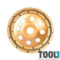 Фреза торцевая шлифовальная алмазная 180x22,2 мм INTERTOOL CT-6180