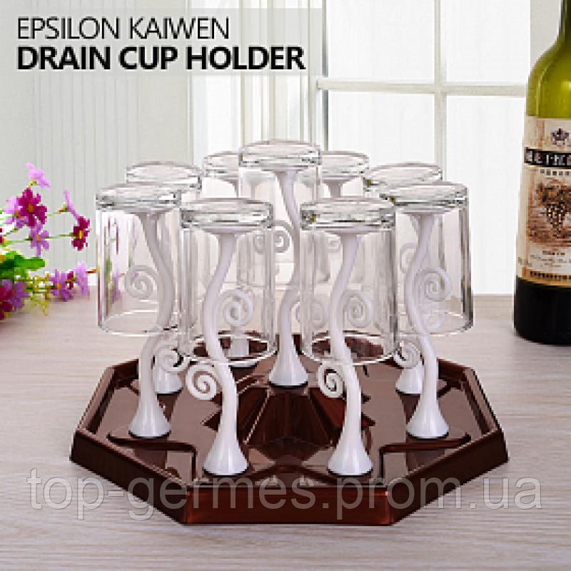 Подставка для стаканов и чашек