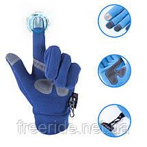 Флисовые сенсорные перчатки The North Face (L), фото 2