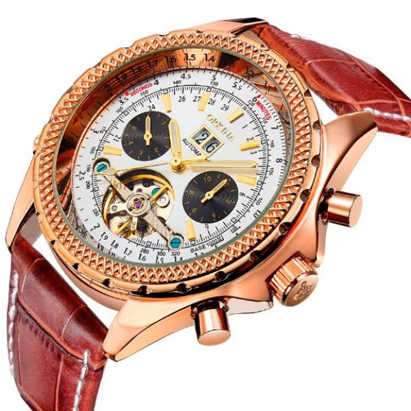 Мужские часы Orkina Bentley Brown