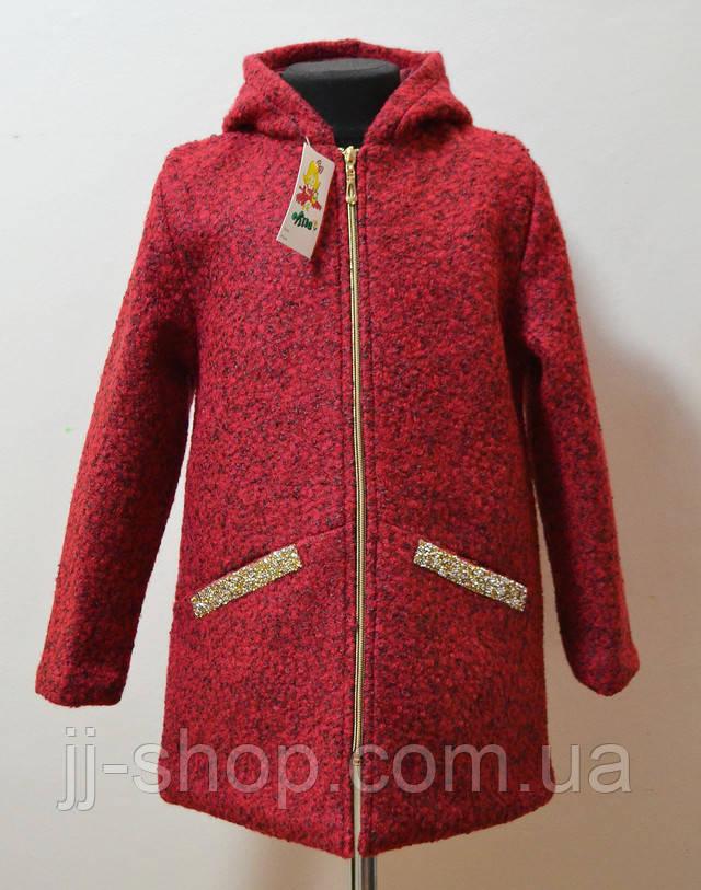детское шерстяное пальто демисезонное