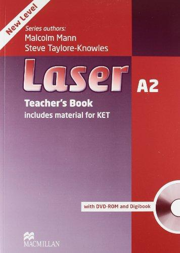 Laser 3rd Edition A2 Teacher's Book with DVD-ROM and Digibook (Книга учителя)