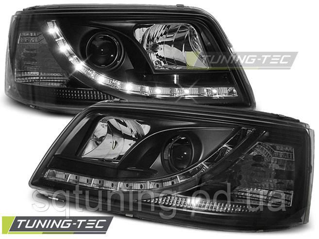 Фари VW T5 04.03-08.09 DAYLIGHT BLACK