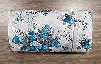 Ткань ранфорс - Paula turquoise бирюзовый 89415. Турция